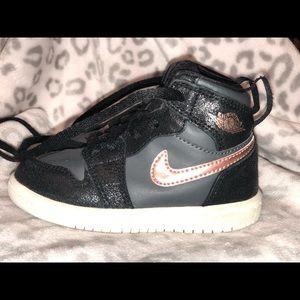 Toddler girl Jordan sneakers